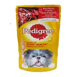 Pedigree,Pouch Beef 130G,718 image here