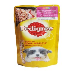 Pedigree,Pouch Puppy Chicken 130G,719 image here