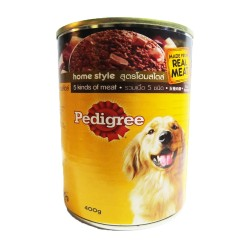 PEDIGREE CAN 5 KINDS OF MEAT 400G image here