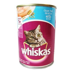 WHISKAS CAN OCEAN FISH 400G image here
