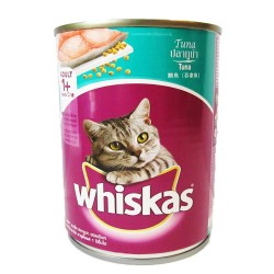 WHISKAS CAN TUNA 400G image here