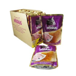 WHISKAS POUCH CHICKEN & TUNA 85G X 12 image here