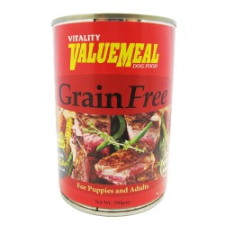 VALUEMEAL CAN GRAIN FREE 390G,741 image here