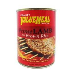 VALUEMEAL CAN PRIME LAMB & BROWN RICE 390G,742 image here