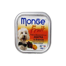 MONGE FRUIT DUCK & ORANGE 100G image here