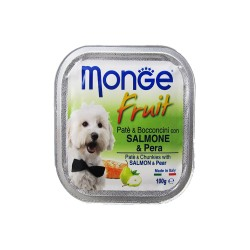 MONGE FRUIT SALMON & PEAR 100G image here