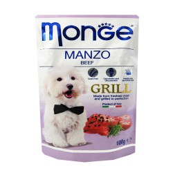MONGE POUCH MANZO BEEF GRILL 100G image here