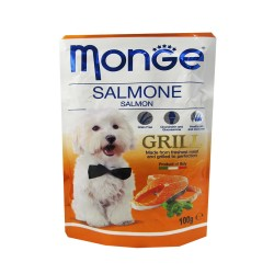 MONGE POUCH SALMONE SALMON GRILL 100G image here