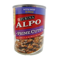 Alpo,Prime Cuts With Beef In Gravy,613A image here
