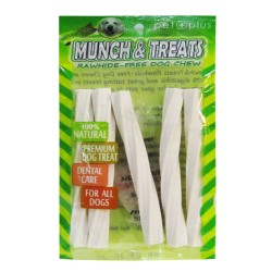 Pet Plus,Munch &Amp; Treats Rawhide-Free Star Sticks Milk 5In,750 image here