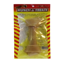 PET PLUS MUNCH & TREATS REGULAR CHEWBONE 6IN image here
