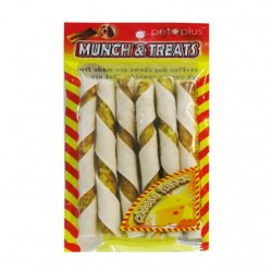 Pet Plus,Munch &Amp; Treats Muncy Roll Cheese Flavor,764 image here