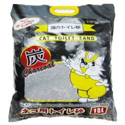 Pet Plus,Cat Toilet Sand Bentonite + Charcoal 10L,768 image here
