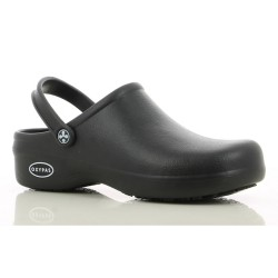 Safety Jogger BESTLIGHT Black Unisex EVA Rubber Clogs Kitchen Safety Footwear,Black,SJ Bestlight BLK image here