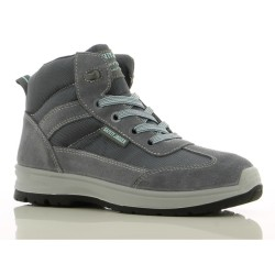 Safety Jogger BOTANIC Ladies High Cut Steel Toe Safety Shoes image here