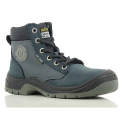 Safety Jogger DAKAR Blue High Cut Steel Toe Safety Shoes image here