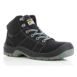 Safety Jogger DESERT Black High Cut Steel Toe Safety Shoes image here