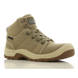 Safety Jogger DESERT Beige High Cut Steel Toe Safety Shoes image here