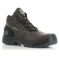Safety Jogger MARS Brown High Cut Composite Toe Safety Shoes image here