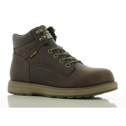 Safety Jogger METEOR Dark Brown High Cut Composite Toe Safety Shoes image here