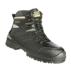 Safety Jogger PREMIUM Heavy Duty High Cut Composite Toe Safety Shoes,Black,SJ Premium image here
