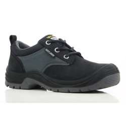 Safety Jogger SAHARA Black Low Cut Steel Toe Safety Shoes image here