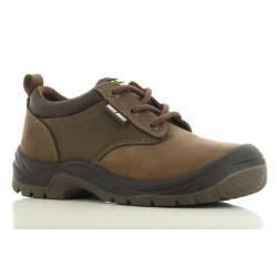 Safety Jogger SAHARA Brown Low Cut Steel Toe Safety Shoes image here