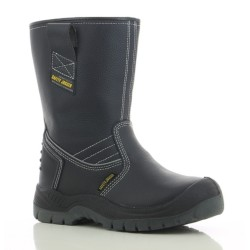 Safety Jogger BESTBOOT High Cut Steel Toe Safety Boots,Black,SJ Bestboot image here