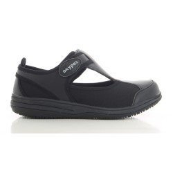 Oxyas CANDY Black Ladies Nursing Shoes image here