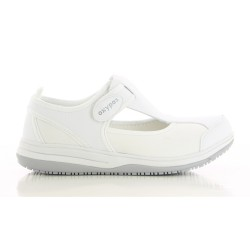 Oxyas CANDY White Ladies Nursing Shoes,White,Oxypas Candy WHT image here
