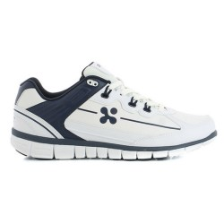 Oxypas HENNY Men's Sneakers Nursing Shoes,Navy,Oxypas Henny NAV image here