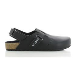 Oxypas JEFF Black Birkenstock Style Sandals Nursing Shoes image here
