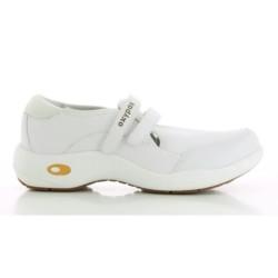 Oxypas ORELIA White Ladies Nursing Shoes,White,Oxypas Orelia WHT image here