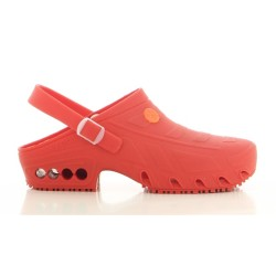 Oxypas OXYCLOG Red Unisex Operating Room Hospital Clogs,Red,Oxypas Oxyclog RED image here