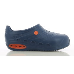 Oxypas OXYSAFE Navy Blue Kitchen Clogs w/ Safety Toecap,Navy,Oxypas Oxysafe NAV image here