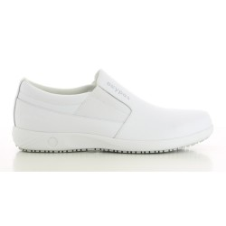 Oxypas ROY White Men's Loafers Nursing Shoes image here