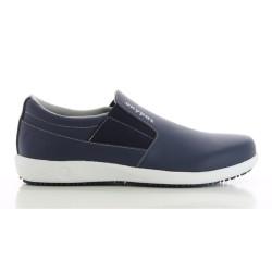 Oxypas ROY Navy Blue Men's Loafers Nursing Shoes,Navy,Oxypas Roy NAV image here