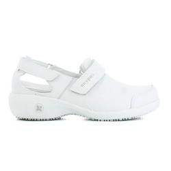 Oxypas SALMA White Ladies Nursing Shoes,White,Oxypas Salma WHT image here