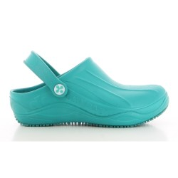 Oxypas SMOOTH Unisex Green EVA Hospital Kitchen Clogs image here
