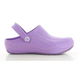 Oxypas SMOOTH Unisex Lilac EVA Hospital Kitchen Clogs,Purple,Oxypas Smooth LIC image here
