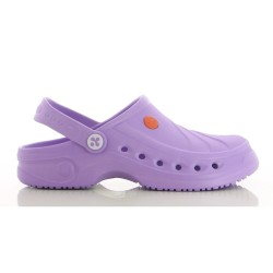 Oxypas SONIC Lilac Unisex EVA Hospital Clogs,Purple,Oxypas Sonic LIC image here