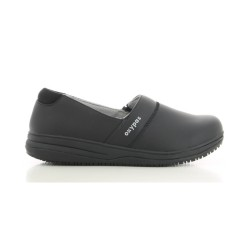 Oxypas SUZY Black Ladies Slip-on Nursing Shoes,Black,Oxypas Suzy BLK image here