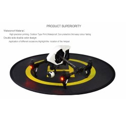 75cm Landing pad for Drones with Luminous strip DJI Phantom Drone Quadcopter Accessories image here