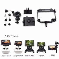 CrystalSky Bracket Mount for DJI  Mavic Air/Spark/Phantom pro/OSMO Display Tablet Holder image here