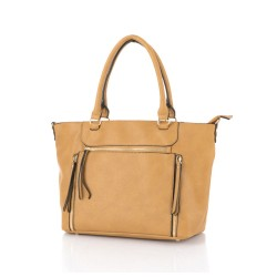 Allure Tote Bag Camel image here