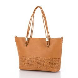 Jasmine Tote Bag Terracotta image here