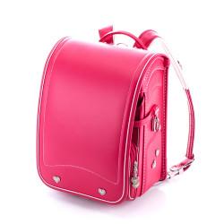 Hideo Wakamatsu, Clarino Randoseru Vivid Pink X Aurora, Pink, 03-61338 image here