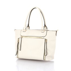Allure Tote Bag White image here
