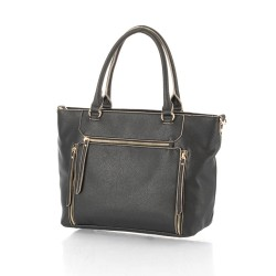 Hideo Wakamatsu, Allure Tote Bag, Black, 31-77806 image here