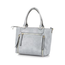 Allure Tote Bag Ice Blue image here